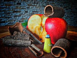 Räucherkerzen Apfel-Zimt