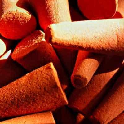 5 Stück Riesenräucherkegel Zimt-Vanille