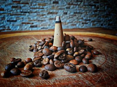 Räucherkegel Kaffee