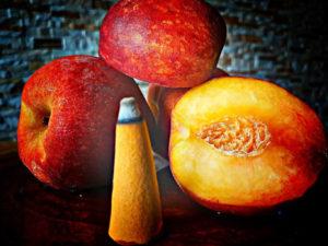 5 Stück Riesenräucherkegel Pfirsich