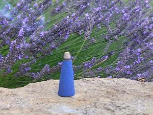 5 Stück Riesenräucherkegel Lavendel